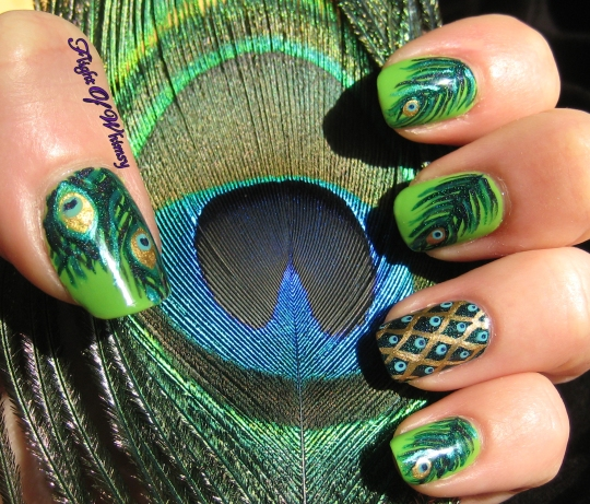 Birds Of A Feather Manicure