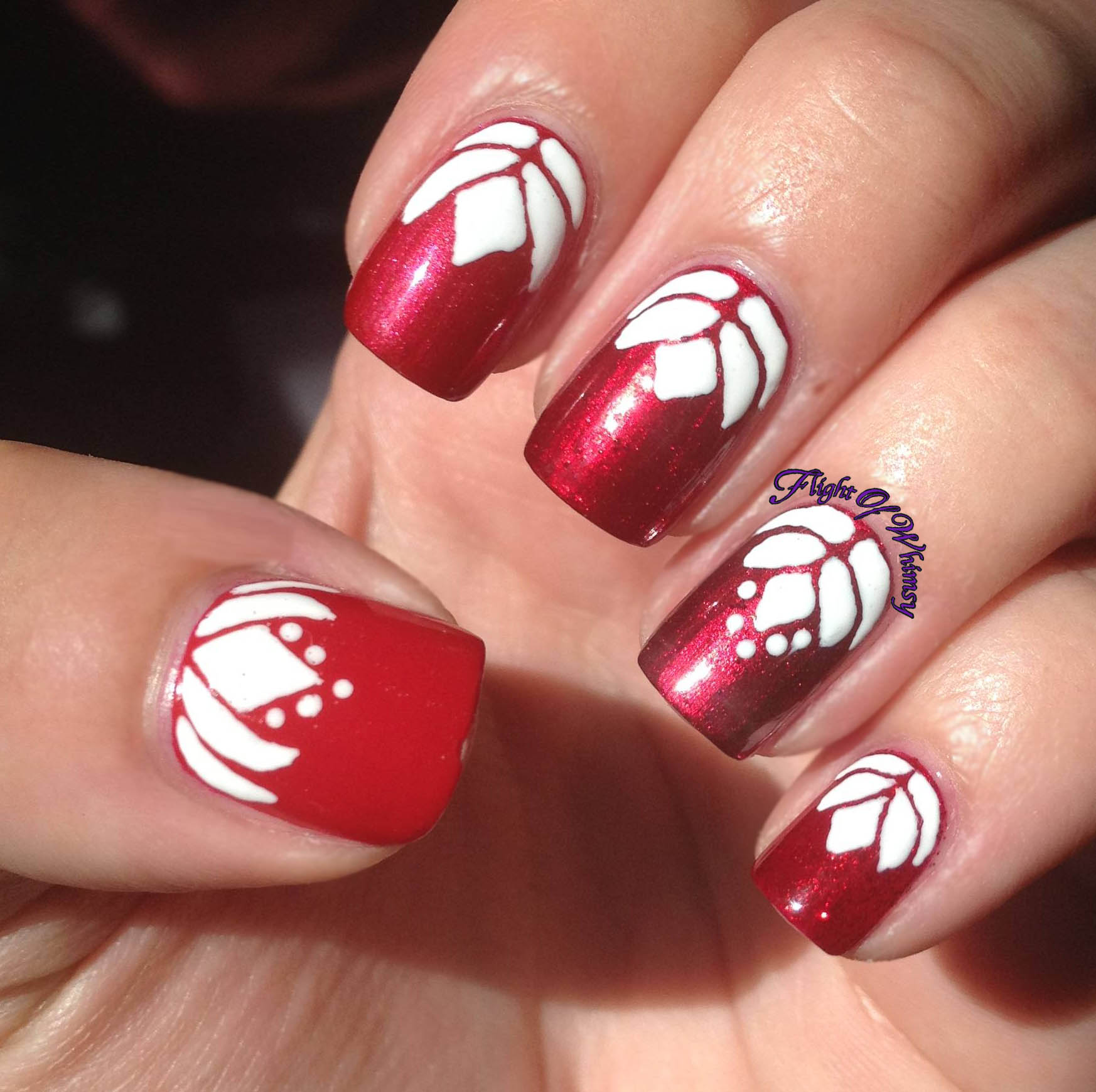 Day 14 flowers lotus flight of whimsy hope you enjoyed and dont forget to check out the other girls nails dhlflorist Image collections