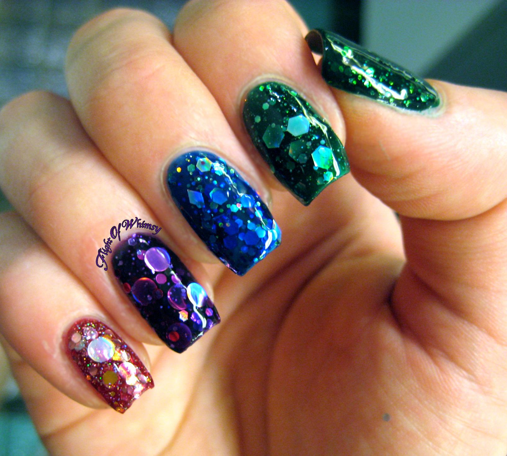 Glitter Ombre | Flight Of Whimsy