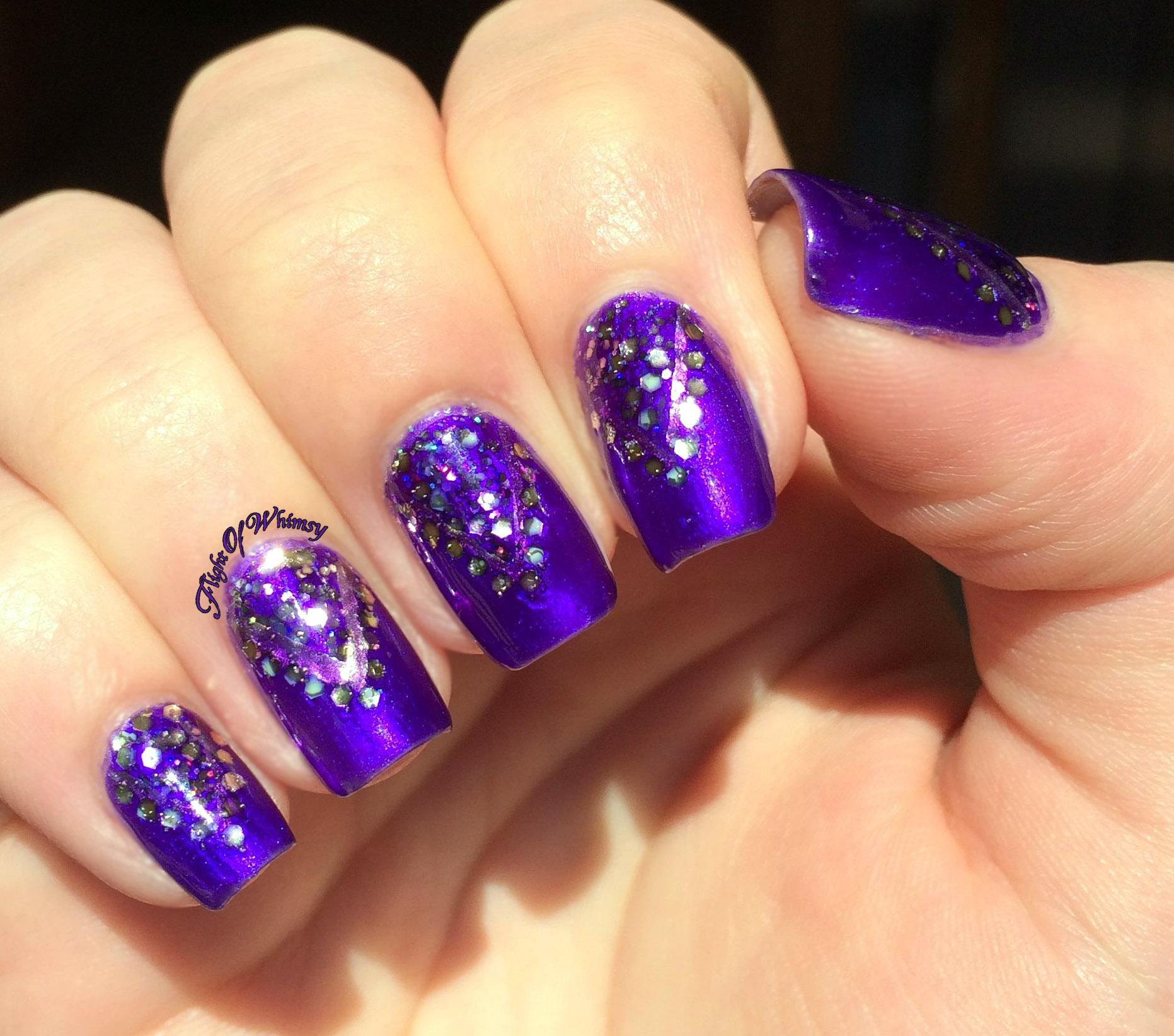 light purple and gold nails wwwpixsharkcom images