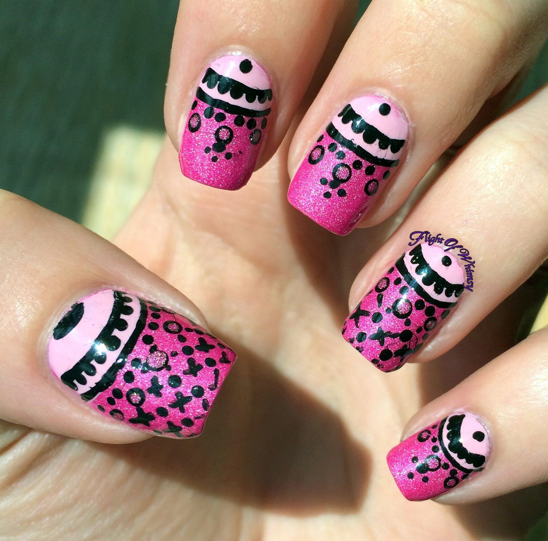 Pink Lacy Half Moons | Flight Of Whimsy