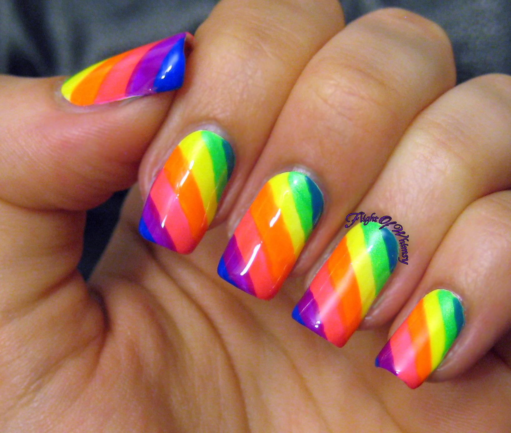 Neon Rainbow | Flight Of Whimsy