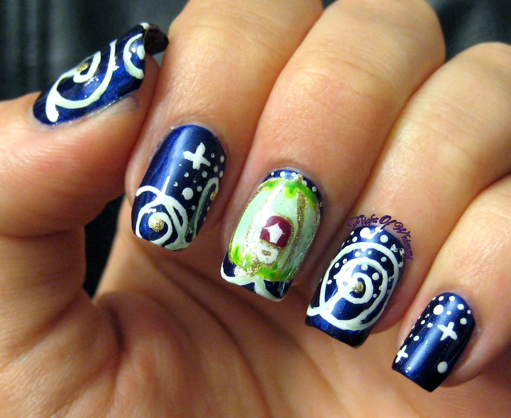 Best Nail Art Of 2015 Flight Of Whimsy